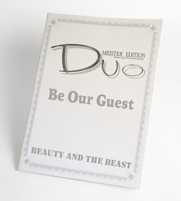 Be Our Guest「美女と野獣」より連弾楽譜
